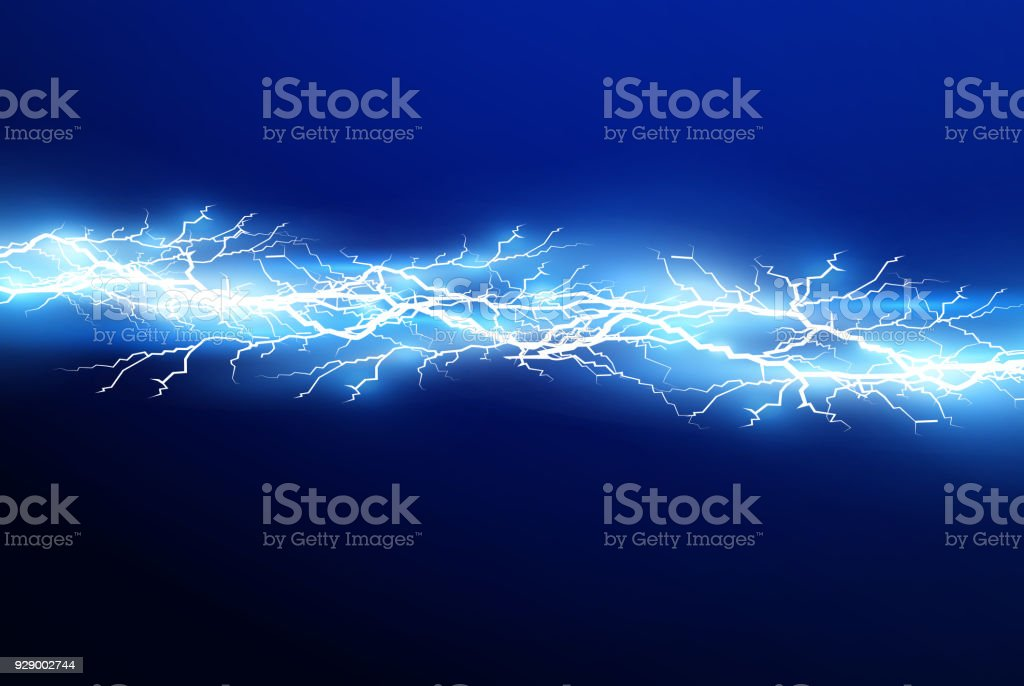 A Set Of Lightning Magic And Bright Light Effects Vector Illustration  Discharge Electric Current Charge Current Natural Phenomena Energy Effect
