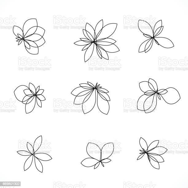Set of line style floral icon vector id669801302?b=1&k=6&m=669801302&s=612x612&h=cngjofxg6deozgil8xryvhkqmphexdzkabo1tlmgv8m=