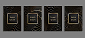 Set of luxury cover templates. Vector cover design for placards, banners, flyers, presentations and cards