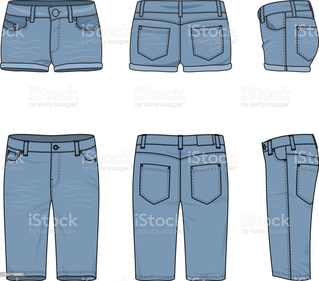 royalty free skinny jeans clip art vector images