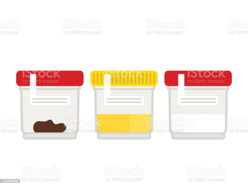 Set of medical tests. vector art illustration