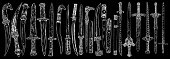 Set of Medieval cold weapon. Warrior weapons collection , old medieval swords and knifes. Hand drawn antique engraving weapons illustration. Vector.