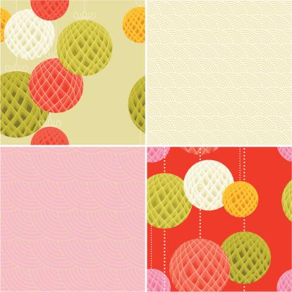 Set of Modern Chinese Patterns