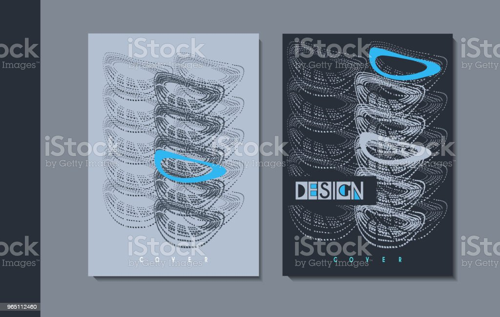 A set of modern covers design. royalty-free a set of modern covers design stock vector art & more images of abstract