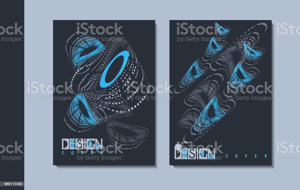 A set of modern covers design. a set of modern covers design - stockowe grafiki wektorowe i więcej obrazów abstrakcja royalty-free