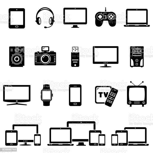 Set of modern digital devices icons vector id926686744?b=1&k=6&m=926686744&s=612x612&h=5flbfpgrccsuws9xtdvqf9qovtkknuyx1njnjy dfru=