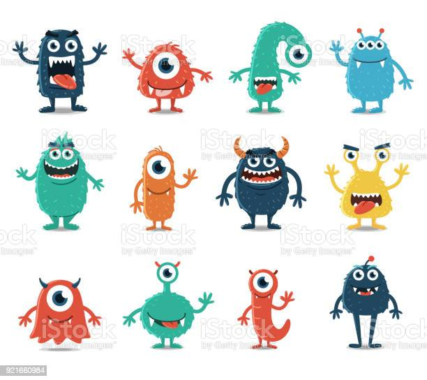 Set of monsters isolated on white background vector id921660984?b=1&k=6&m=921660984&s=612x612&h=w10dbq lvgihfbql7k14u dhazstojbhrl0bomd 6sg=