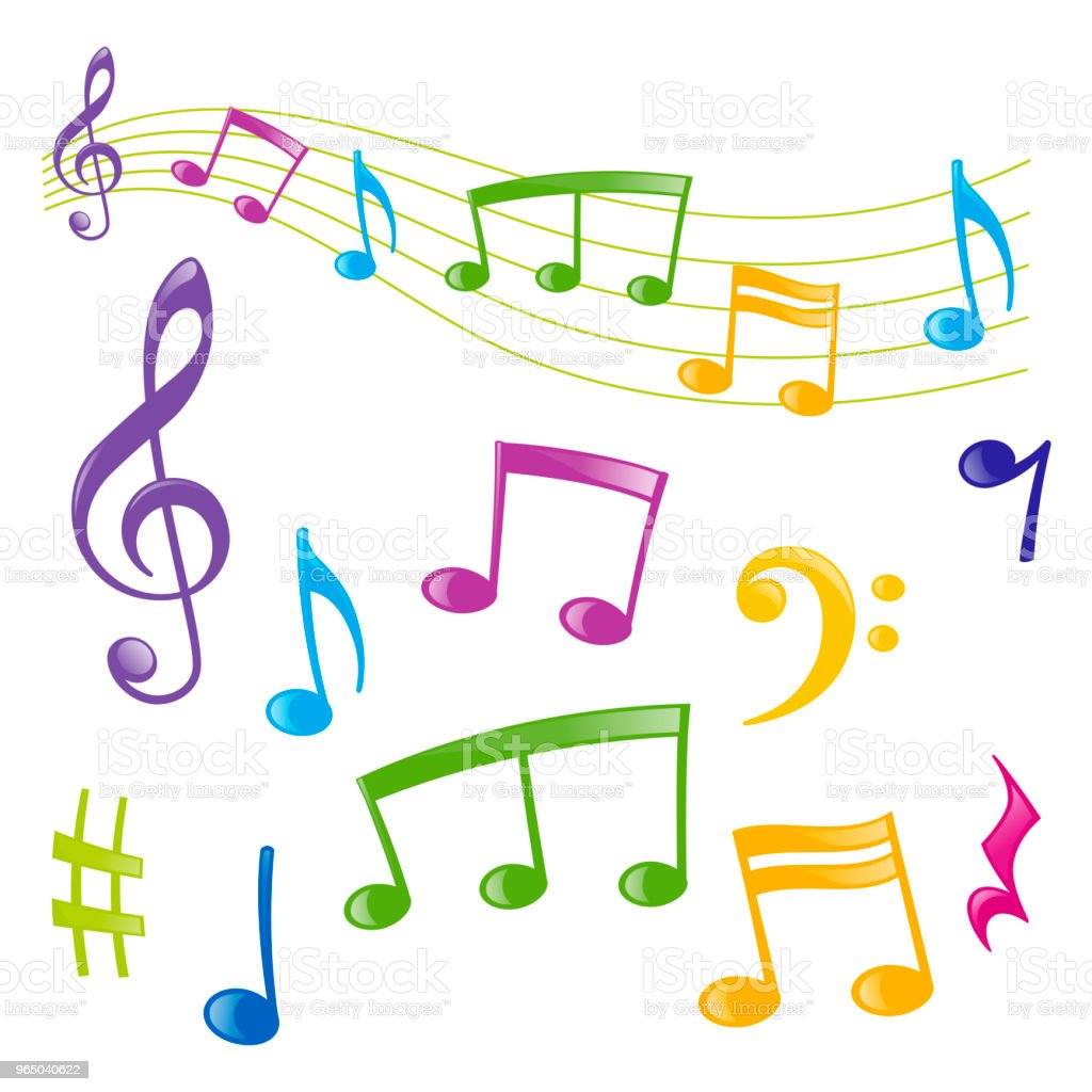 Set of musical signs royalty-free set of musical signs stock vector art & more images of art