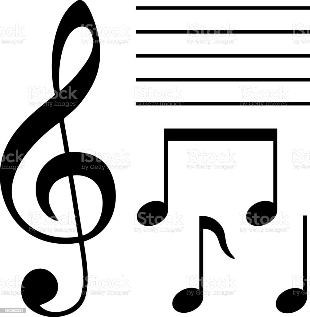 Set Of Musical Symbols Stock Vector Art More Images Of Arts