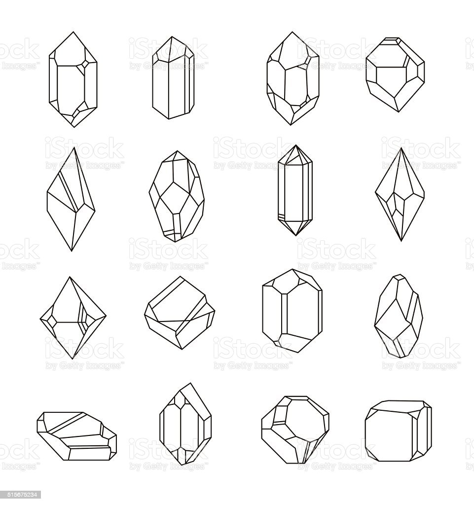 Royalty Free Quartz Clip Art, Vector Images ...