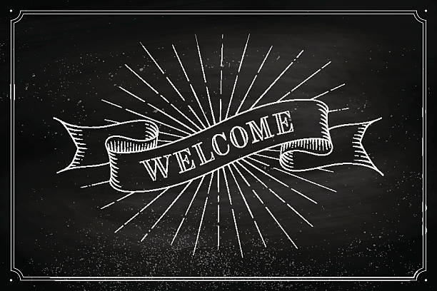 Welcome Sign Illustrations, Royalty-Free Vector Graphics ...