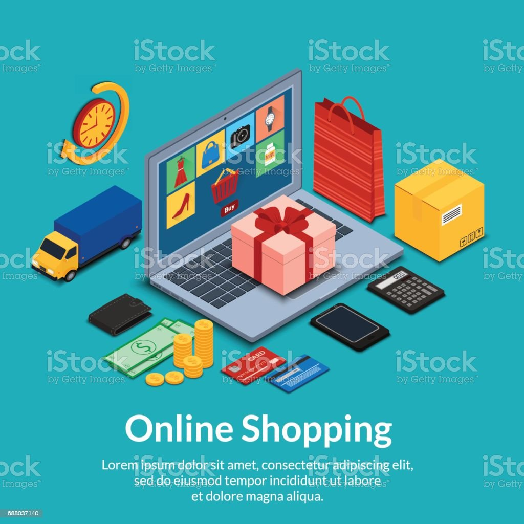 a09880df51 Set of online shopping icons set of online shopping icons - immagini vettoriali  stock e altre