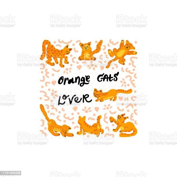 Set of orange cats vector vector id1131355408?b=1&k=6&m=1131355408&s=612x612&h=j3ofel7307jgt4rlaydm0lolql8m2zdpkoihbbl40su=