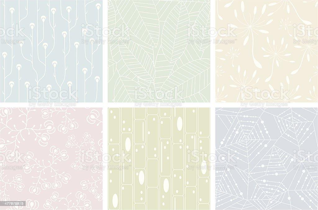 Set of organic patterns royalty-free set of organic patterns stock illustration - download image now