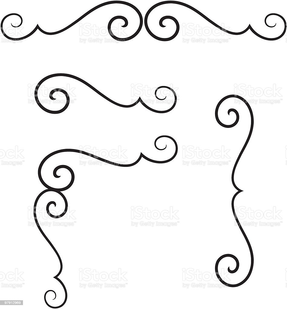 Set of original vector design elements royalty-free set of original vector design elements stock vector art & more images of abstract