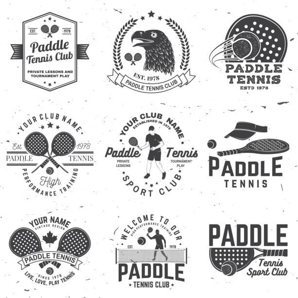 Best Tennis Match Illustrations, Royalty-Free Vector