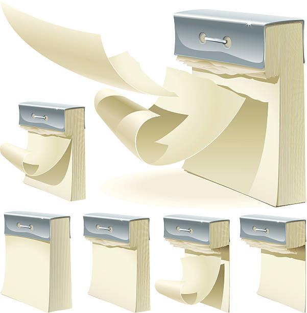 Satz von Papier Reißen-Kalender – Vektorgrafik