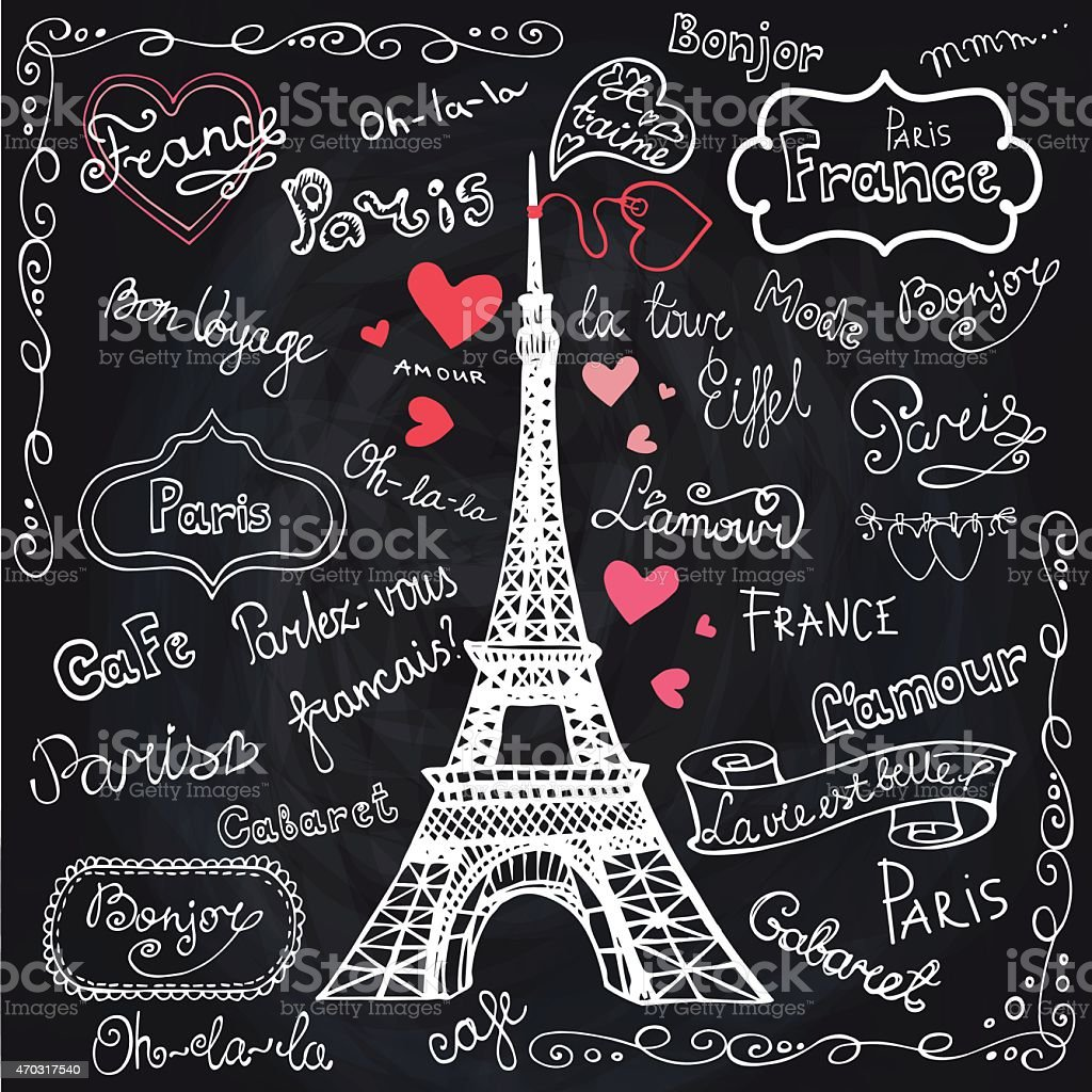 royalty free french words clip art vector images illustrations rh istockphoto com France Clip Art French Map Clip Art