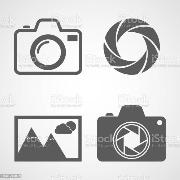 Set of photo icons vector illustration vector id1061710518?b=1&k=6&m=1061710518&s=612x612&h=8u9cs1fqsbwoks9vpnomulvoshedhlubthohsxkscbo=