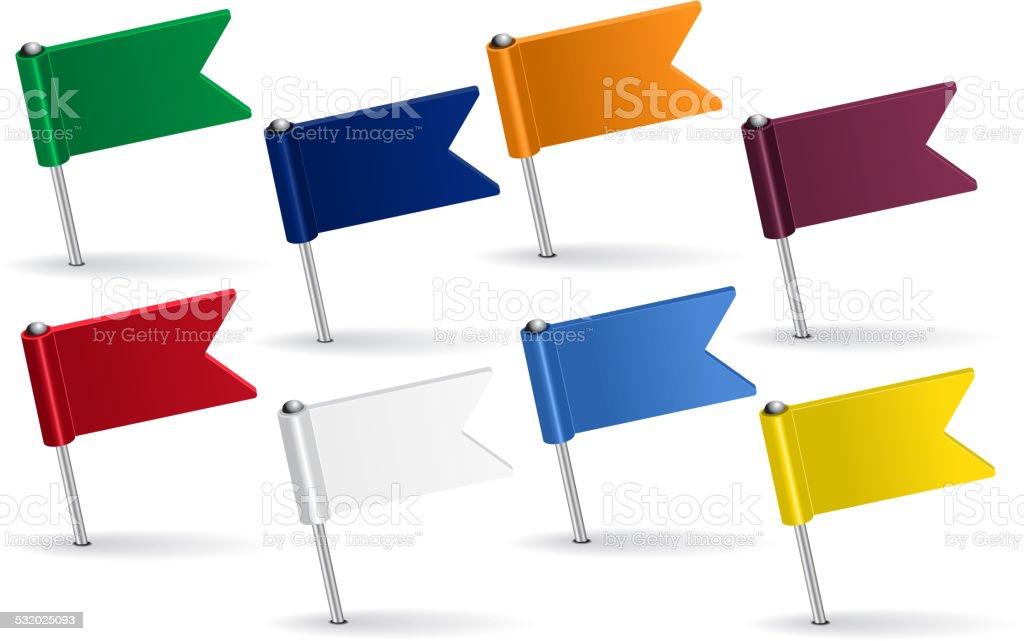 Conjunto de iconos de Banderas. Ilustración vectorial - ilustración de arte vectorial