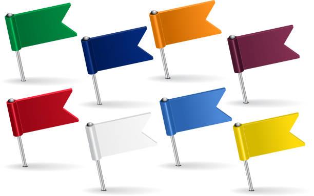 illustrations, cliparts, dessins animés et icônes de ensemble de jeu de l'icône de drapeaux. illustration vectorielle - cartes et drapeaux