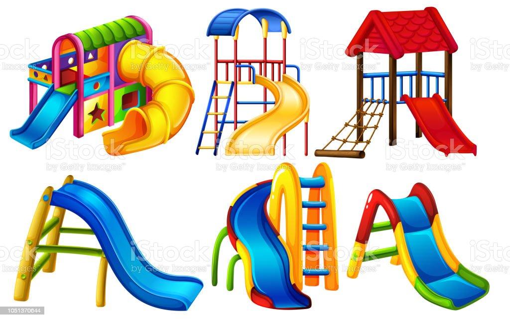 65f139541 Conjunto de juegos infantiles ilustración de conjunto de juegos infantiles  y más vectores libres de derechos