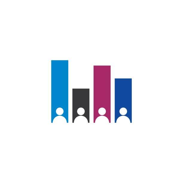 ilustraciones, imágenes clip art, dibujos animados e iconos de stock de conjunto de ilustración del icono del vector del gráfico de sondeo - polling place