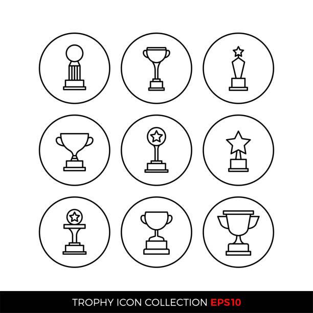 illustrations, cliparts, dessins animés et icônes de ensemble d'icônes de prix premium. illustration vectorielle eps10 - alliage