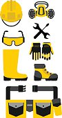 Set of protective equipment