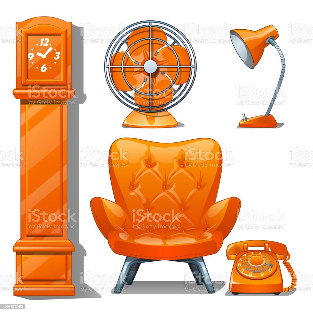Oranger Stuhl Excellent Wassu Stuhl Metall Dunkel Orange
