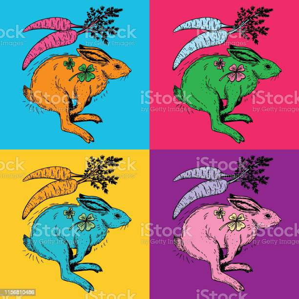 Set of rabbits running on vibrant saturated colors vector id1156810486?b=1&k=6&m=1156810486&s=612x612&h=xvecq8i8uth4ounoh1jcb04tu ztkgjhue5hdtqgbxs=