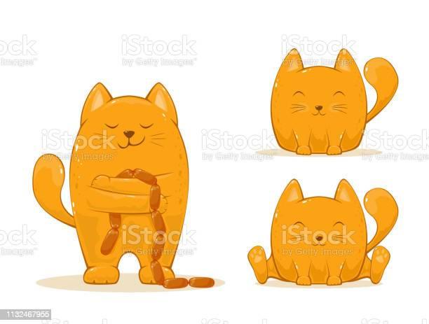 Set of red happy cats vector id1132467955?b=1&k=6&m=1132467955&s=612x612&h=8qq1ztkhgojkwwgbhsx1aaajxoahgl963x3hsdug3ma=