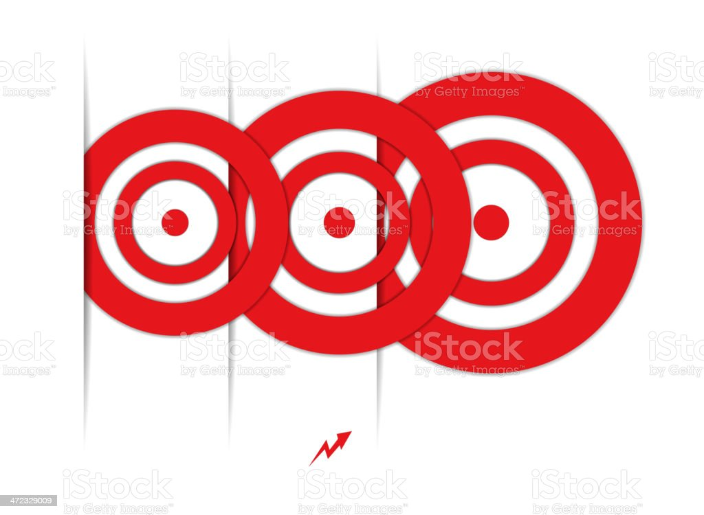 set of red targets royalty-free set of red targets stock vector art & more images of aiming