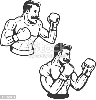 Boxing Glove Tattoo Vector For Free Ai Svg And Eps