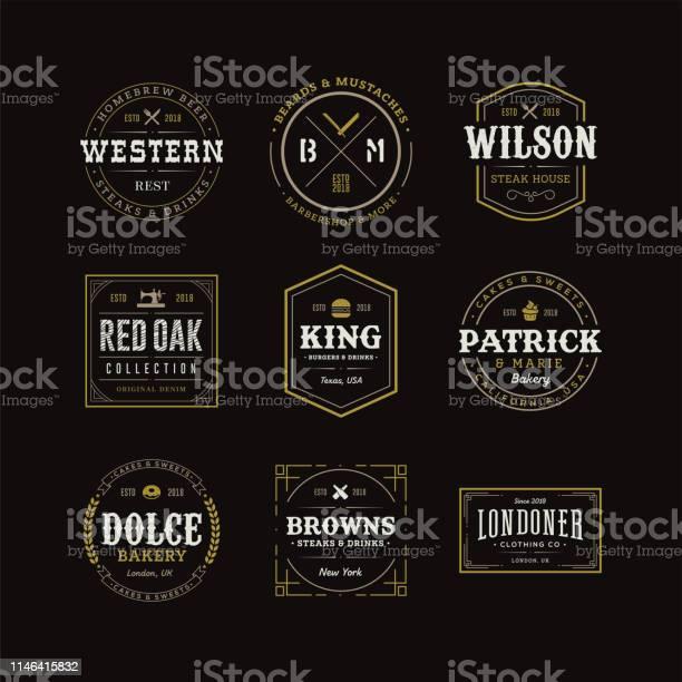 Set of retro vintage hipster logo sign emblem design vector id1146415832?b=1&k=6&m=1146415832&s=612x612&h=w9rsbbqr9pk3fvepzrfsv0r7augnem5rbunqg1ihc0a=