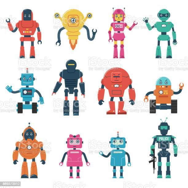 Set of robot characters vector id889373512?b=1&k=6&m=889373512&s=612x612&h=4bpj5hxoelvlplzqszn19x3u 8fl09ikhoqwgq1xfz8=