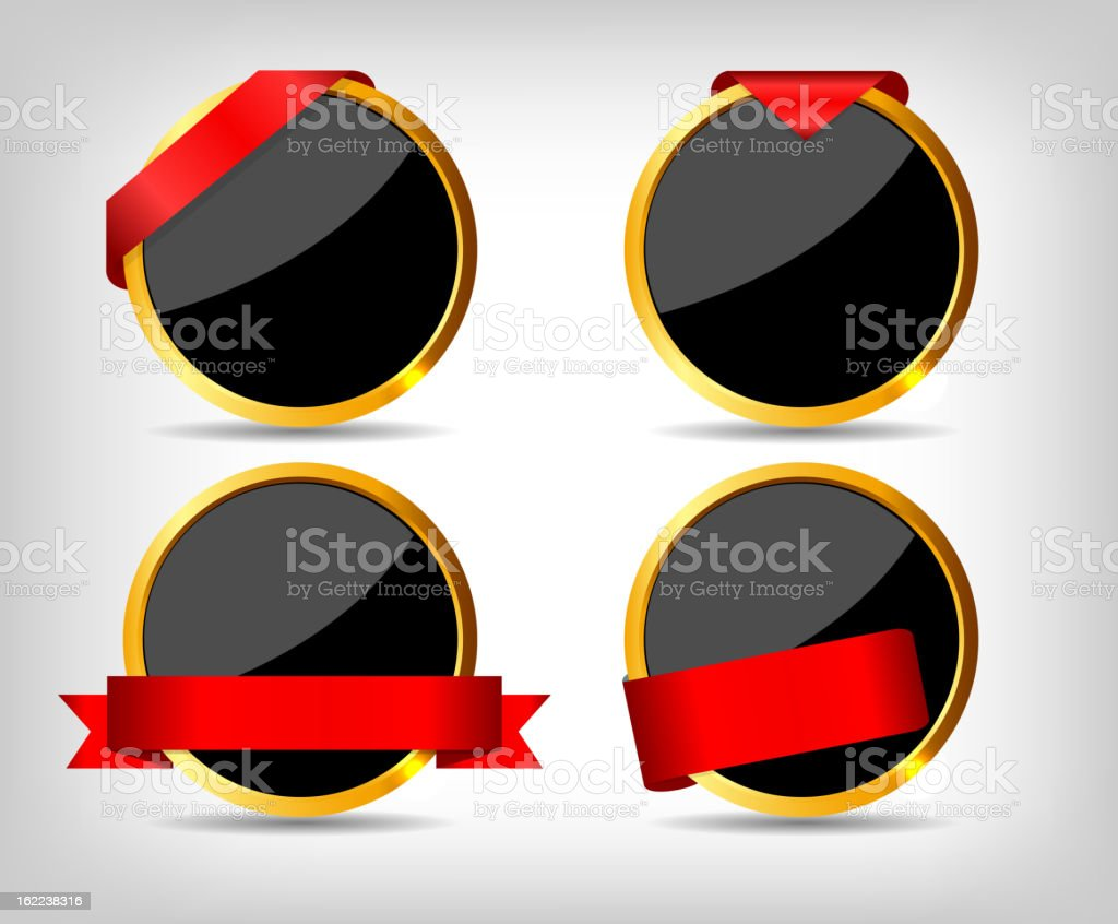 Set of Sale Tags. Vector illustration royalty-free stock vector art