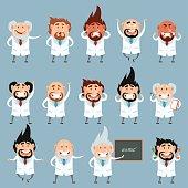 Set of scientists2