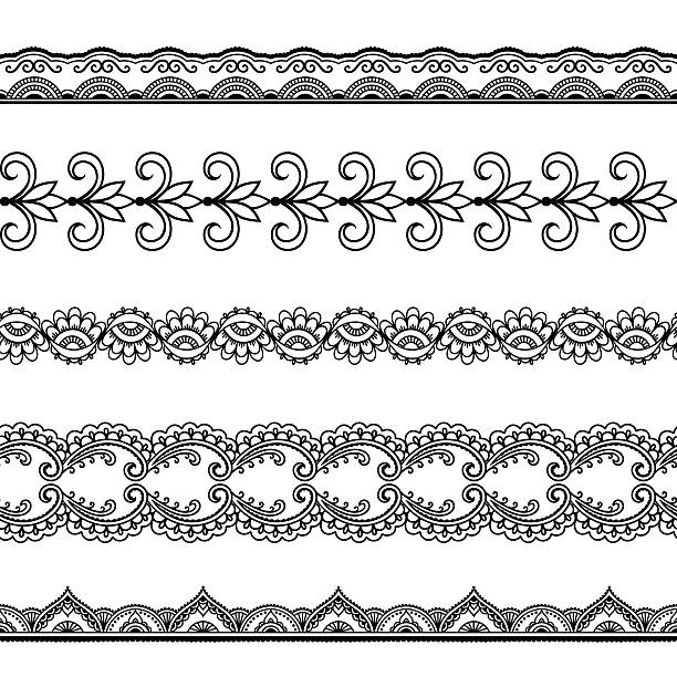 3 074 Cool Border Designs To Draw Drawing Illustrations Clip Art Istock
