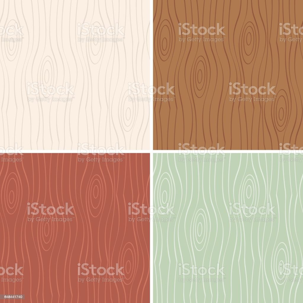 wood door texture. Set Of Seamless Pattern Wood Vector Art Illustration Door Texture