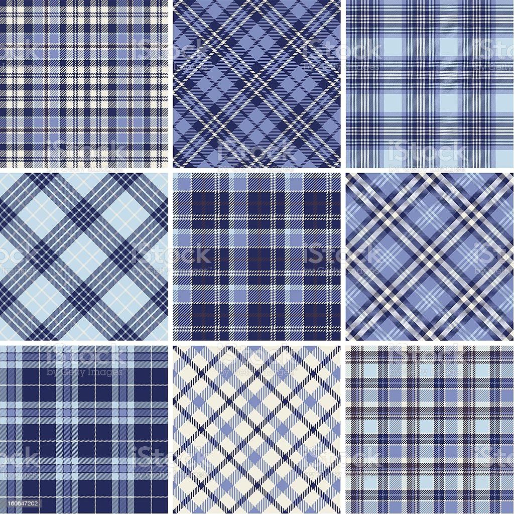 Set of seamless tartan patterns royalty-free set of seamless tartan patterns stock vector art & more images of abstract