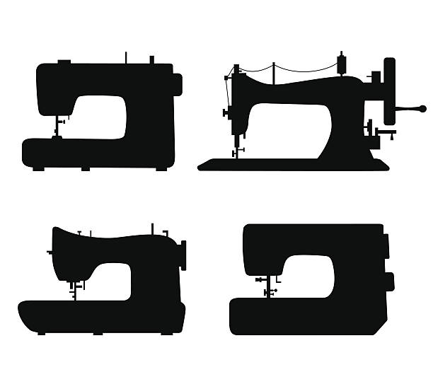 Royalty Free Sewing Machine Clip Art Vector Images Illustrations