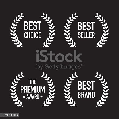 Set of Shopping Badges