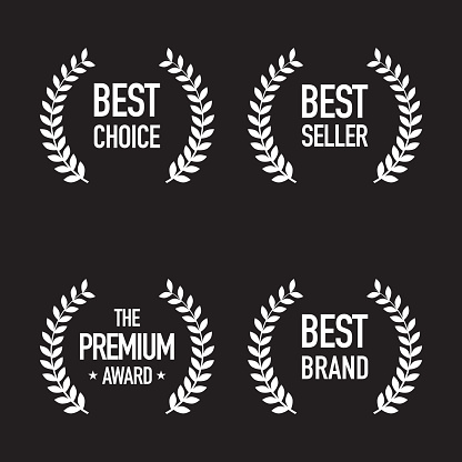 Set Of Shopping Badges - Stockowe grafiki wektorowe i więcej obrazów Abstrakcja