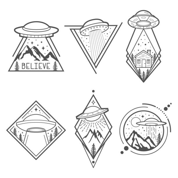 Best Ufo Illustrations, Royalty-Free Vector Graphics
