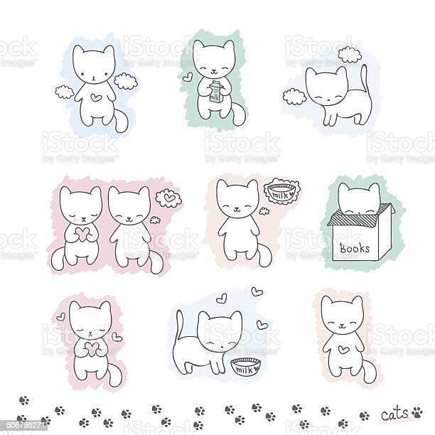 Set of sketch with cats vector id506795271?b=1&k=6&m=506795271&s=612x612&h=rmvenwvgqns1fsub1podrsrbqslbqdrrfwwm3cc7pvs=