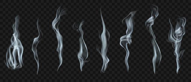 Set of smoke