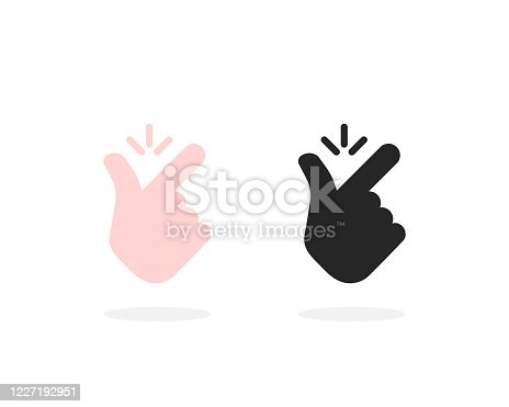 istock set of snap finger like easy icon 1227192951