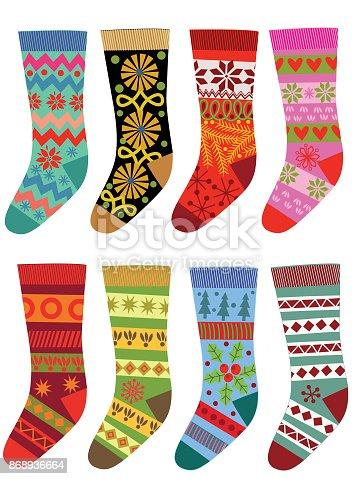 istock Set of socks. 868936664