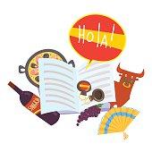 Kostenlose Clipart und Vektorgrafiken für Spanisch Lernen ...